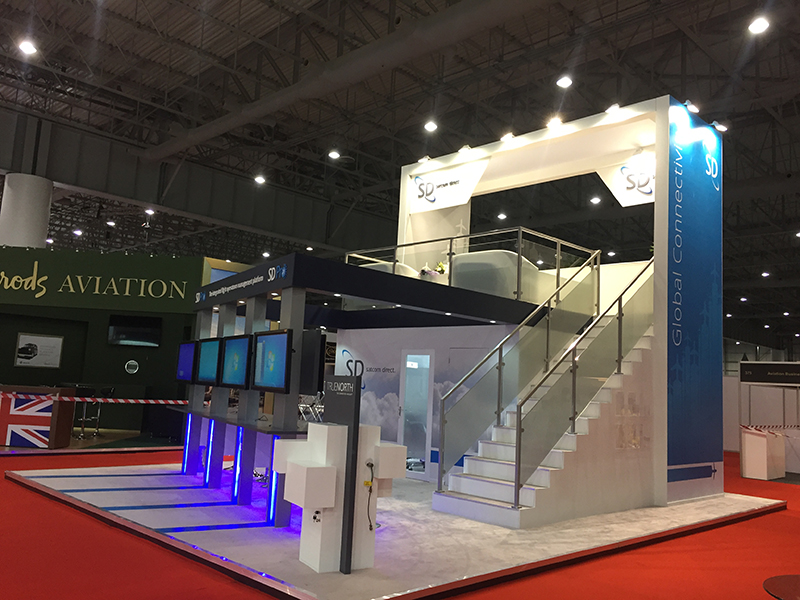 Exhibition Stand Double Decker : One union home